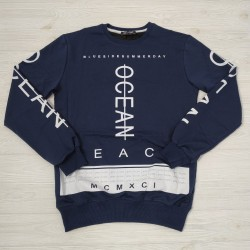 Світшот Zero Time Ocean Navy Blue